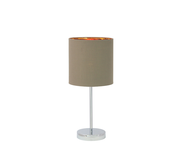 LT7270 taupe Table Lamp